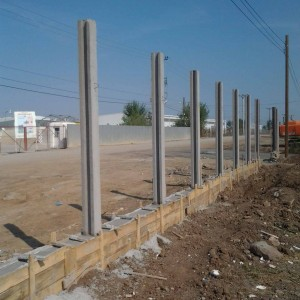Fundatie gard beton